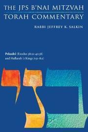 Pekudei (Exodus 38:21-40:38) and Haftarah (1 Kings 7:40-50) by Jeffrey K. Salkin image