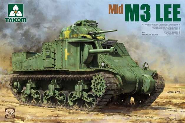 Takom: 1/35 US M3 Lee Medium Tank (Mid) Model Kit