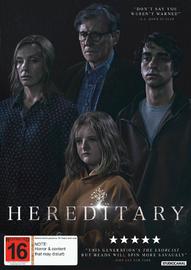 Hereditary on DVD