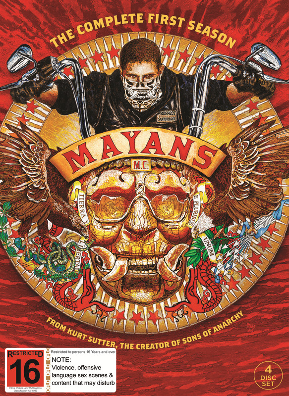 Mayans M.C. - The Complete First Season (Mighty Ape Exclusive) on DVD