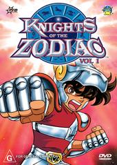 Knights Of The Zodiac - Vol 1 on DVD