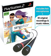 SingStar (with mics) for PlayStation 2