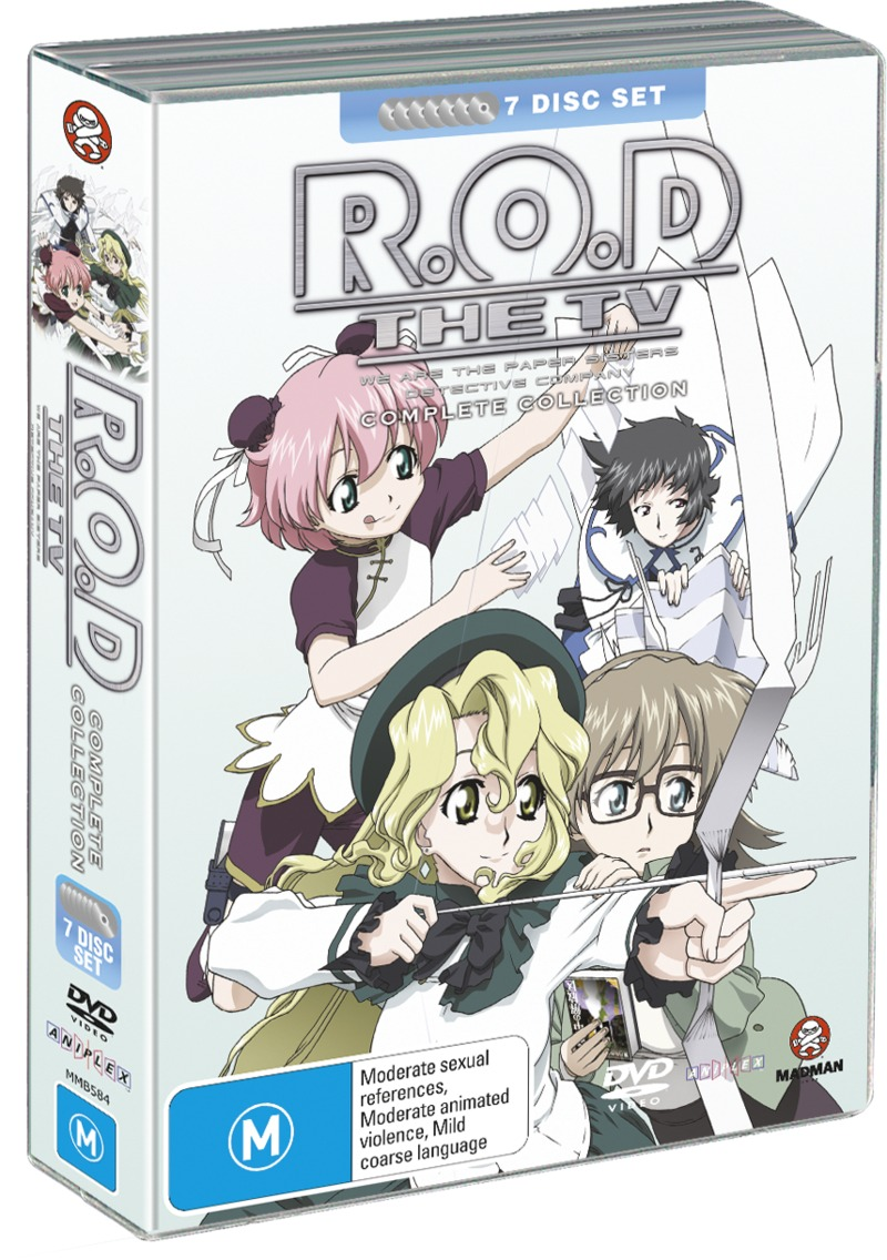 R.O.D - The TV - Complete Collection (7 Disc Fatpack) on DVD image