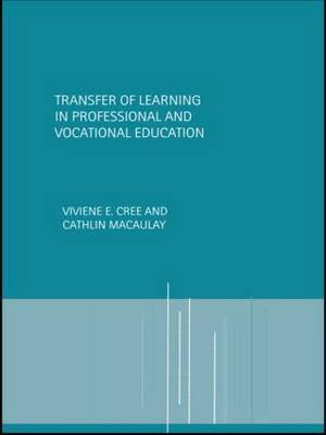 Transfer of Learning in Professional and Vocational Education image