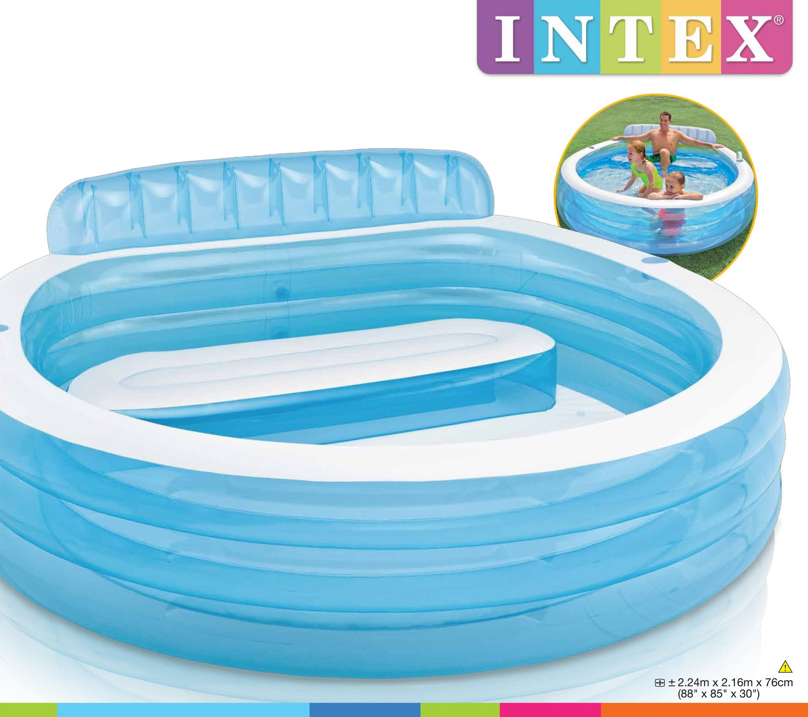 Swim Centre Family Lounge Pool Toy At Mighty Ape Nz