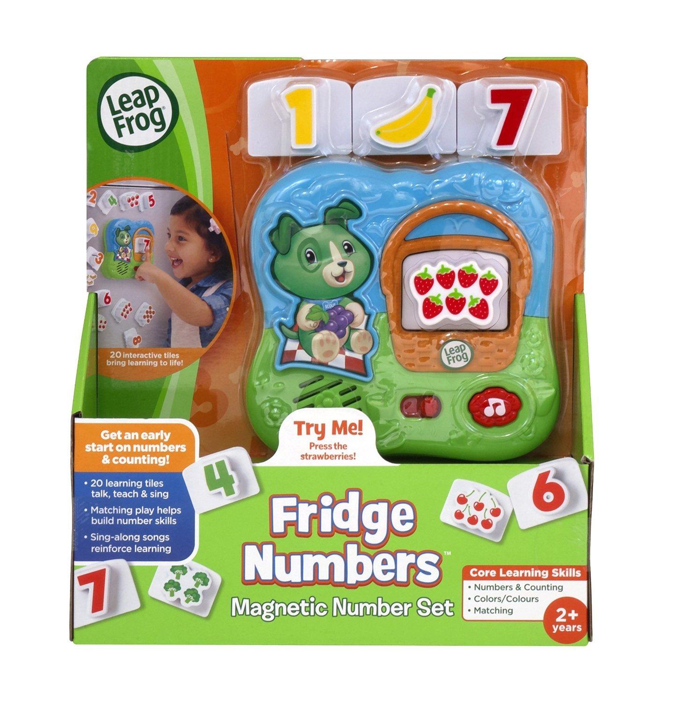 LeapFrog: Fridge Numbers Magnetic Set image