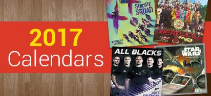 25% off 2017 Calendars