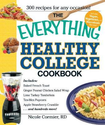 The Everything Healthy College Cookbook by Nicole Cormier image