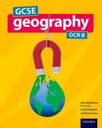 GCSE Geography OCR B Student Book by John Widdowson image