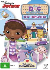 Doc Mcstuffins: Toy Hospital on DVD