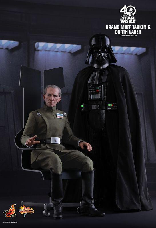 """Star Wars: A New Hope - Grand Moff Tarkin & Darth Vader 12"""" Figure Set"""