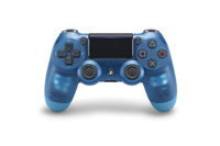 PlayStation 4 Dual Shock 4 v2 Wireless Controller - Blue Crystal for PS4 image