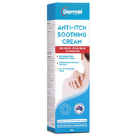 Dermal Therapy Plant Based Anti-Itch Soothing Cream (85g)