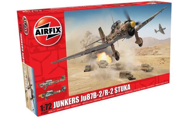 Airfix 1:72 Junkers Ju 87B2 / R2 Stuka Model Kit