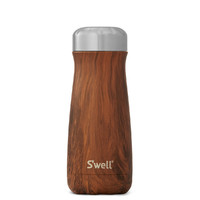 S'Well: Traveller Wood Collection - 350ml Teakwood
