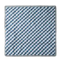 Little Unicorn: Outdoor Blanket - Navy Gingham (5 x 7)