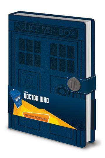 Doctor Who Premium Notebook A5 Tardis image