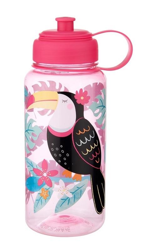 Sass & Belle: Tiki Toucan - Water Bottle (1L)