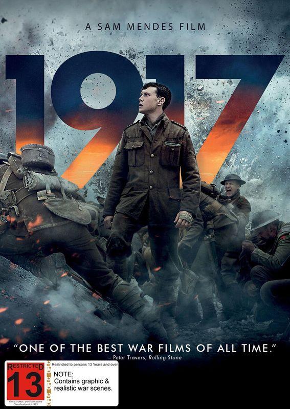 1917 on DVD