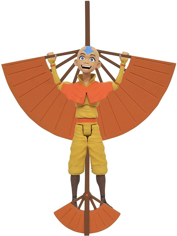 """Avatar TLA: Aang (with Glider) - 7"""" Action Figure"""