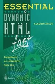 Essential Dynamic HTML fast by Aladdin Ayesh image