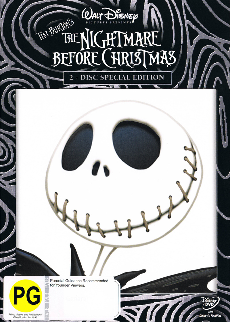 The Nightmare Before Christmas (2-Disc Special Edition) on DVD image