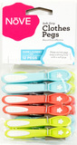 Nove Soft Touch Clothes Pegs (12 Pack)