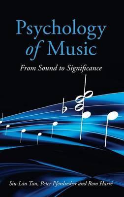 Psychology of Music by Siu-Lan Tan image