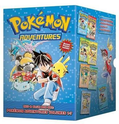 Pokemon Adventures Red & Blue Box Set: Volumes 1-7 by Hidenori Kusaka