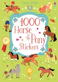 1000 Horse and Pony Stickers by Lucy Bowman