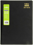 Collins A4 Boston Mid Year Diary 2017-2018- Week to View