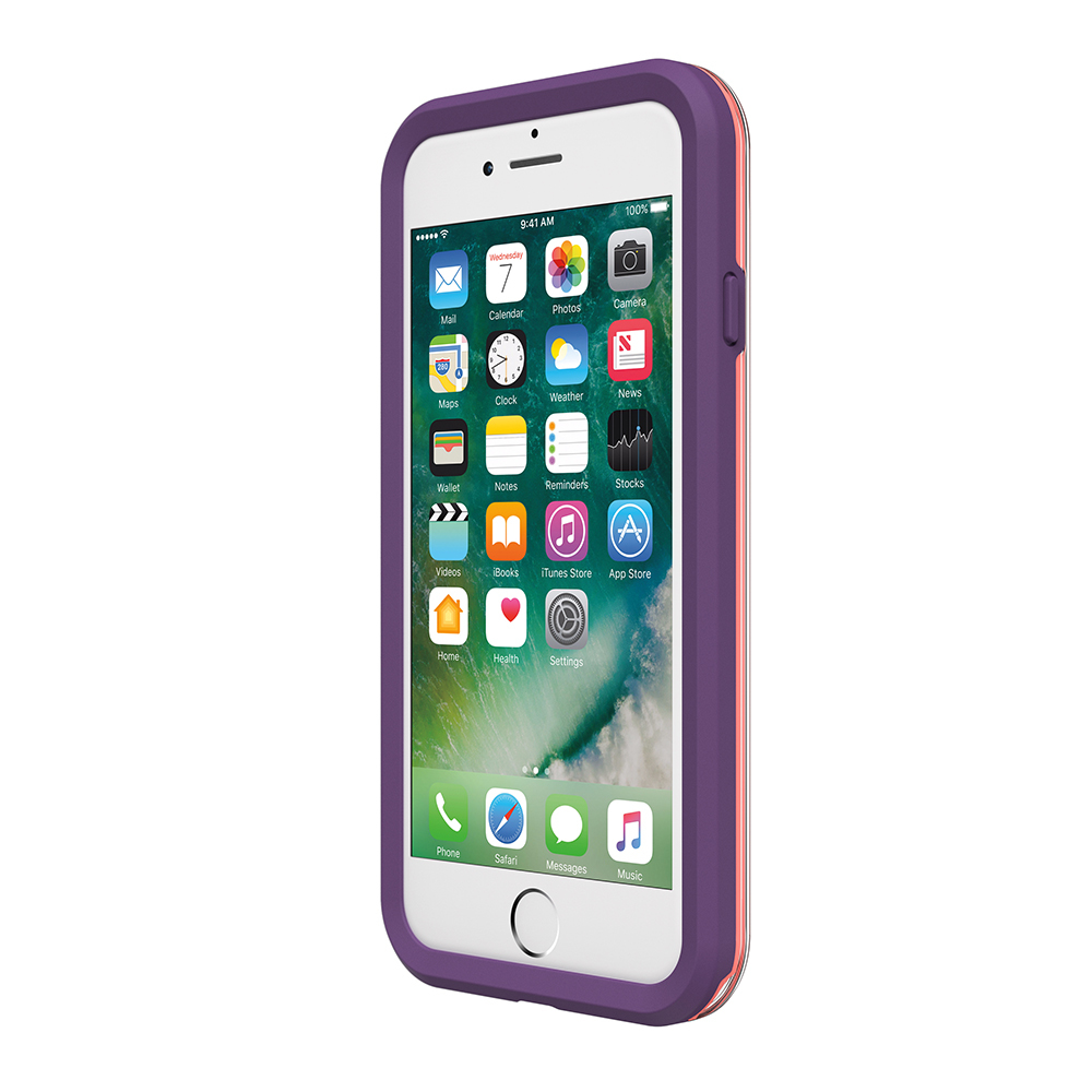LifeProof Slam Case for iPhone 7/8 - Coral Lilac image