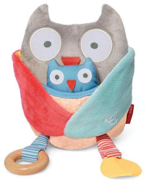 Skip Hop: Treetop Friend Activity Toy - Grey + Pastel