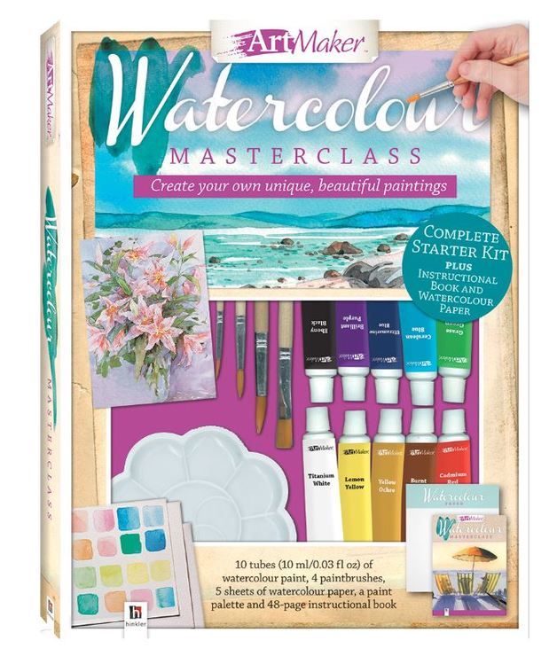 Art Maker: Art Maker Watercolours Portrait Kit