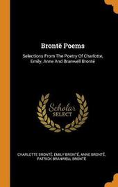 Bront Poems by Charlotte Bronte