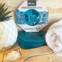 Ahhh Soaps Loofah Soap - Ocean Cruz (120g)