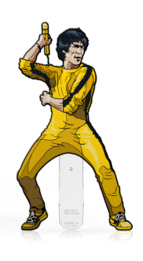 Bruce Lee: Yellow Jumpsuit (#371) - Collectors FiGPiN image
