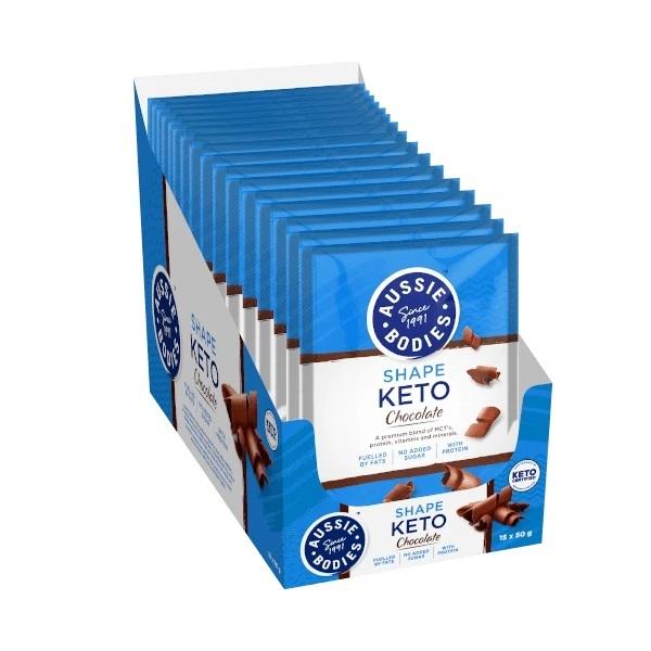 Aussie Bodies: Keto Sachet - Chocolate (15 x 50g)