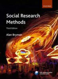 Social Research Methods by Alan Bryman image