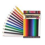 Jumbo Colored Pencils 24-Piece - Melissa & Doug