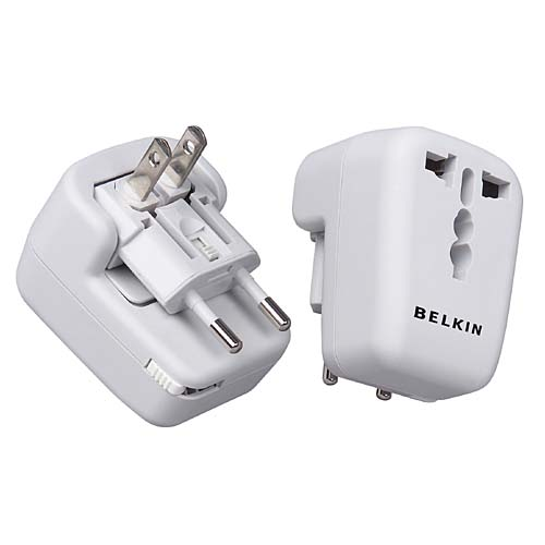 Belkin Universal AC Travel Adapter  (U.S-Europe-UK-China-Asia-Australia) image