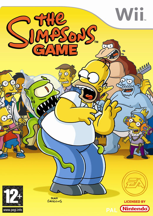 The Simpsons Game for Nintendo Wii