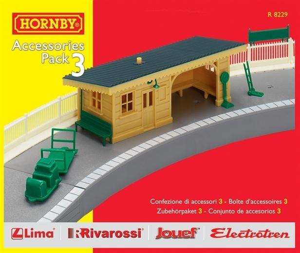 Hornby Accessories Pack 3 - Platform Set