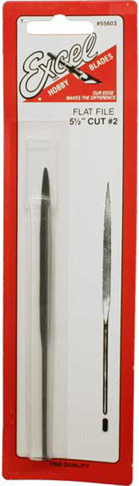 """Excel Flat Tapered Needle File 5.5"""""""