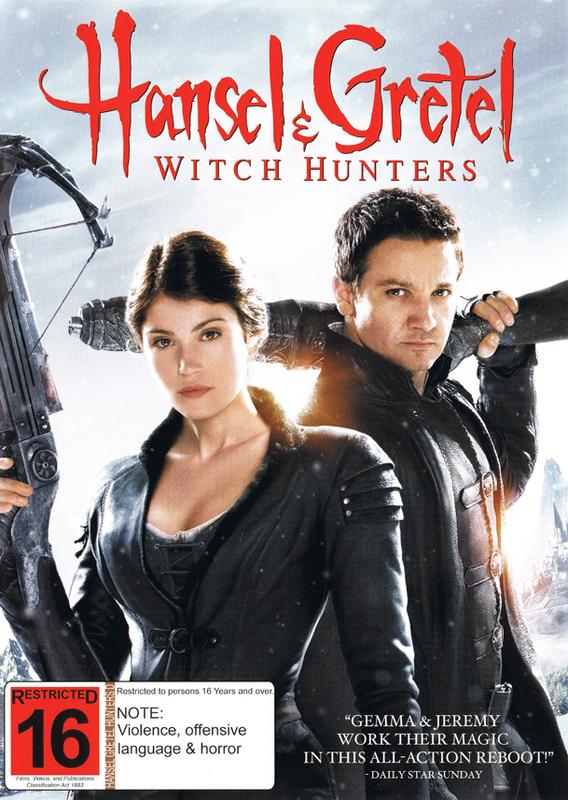Hansel & Gretel: Witch Hunters on DVD