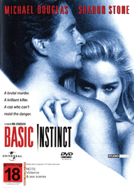 Basic Instinct on DVD image