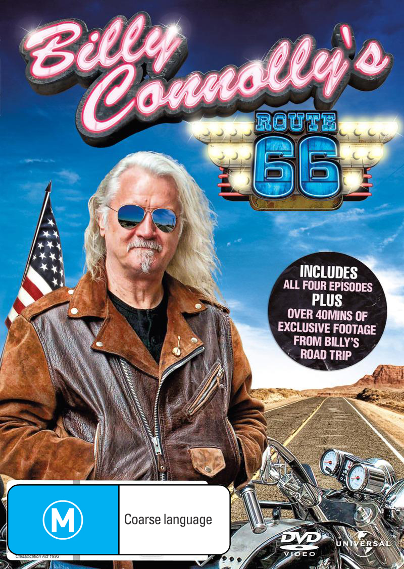 Billy Connolly's Route 66 on DVD image