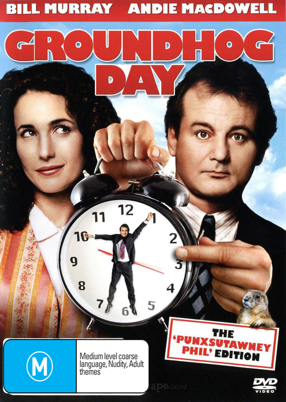 Groundhog Day - Special 15th Anniversary Edition on DVD