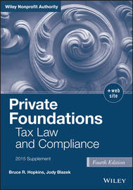 Private Foundations by Bruce R Hopkins