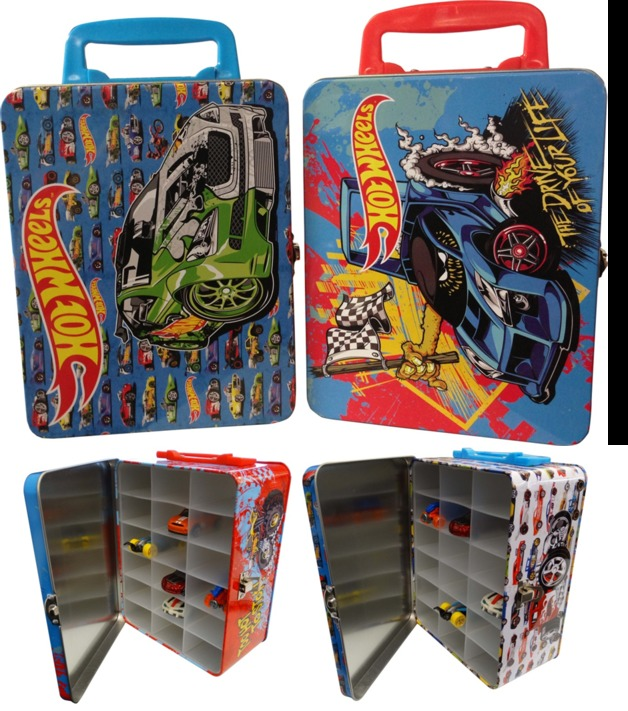 Hot Wheels Carry Case Blue Toy At Mighty Ape Australia